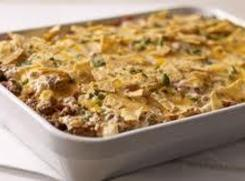 Beef, Cheese And  Rice Casserole Recipe