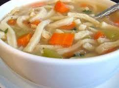 Russ's Homemade Chicken Noodle Soup Recipe