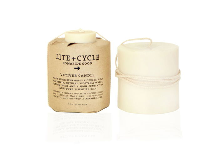 Lite + Cycle Candle (Non Toxic Candles)