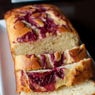 Healthy Raspberry Lemon Loaf