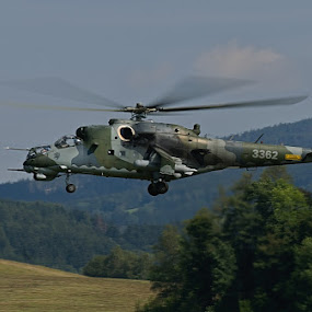helicopter by Pavel Vrba - Transportation Airplanes ( army, helicopter, military )