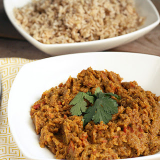 Baingan Bharta (Roasted Eggplant Curry) – Gluten-free + Vegan.