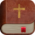 Bible in hand - Offline icon