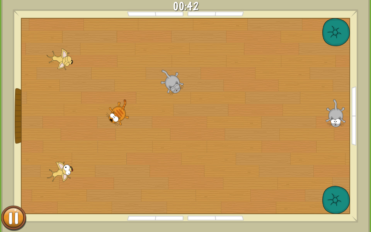 FlatFatCat - Funny casual puzzle game with kittens- screenshot