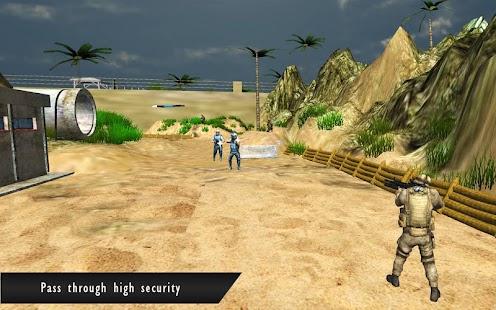 Commando Shooter Base Attack - náhled