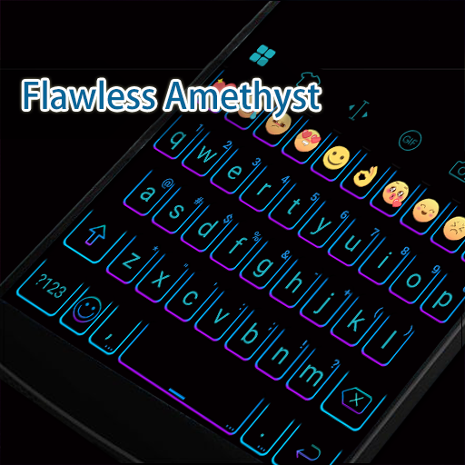 Flawless Amethyst Eva Keyboard 遊戲 App LOGO-硬是要APP