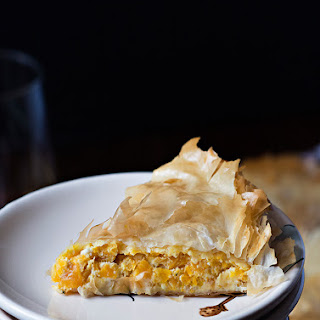 Greek Pumpkin and Feta Cheese Pie (Kolokithopita)