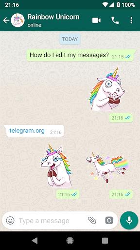 10 Sticker Packs for WhatsApp 1.0 screenshots 2