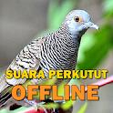 Kicau Suara Burung Perkutut MP3 Offline icon