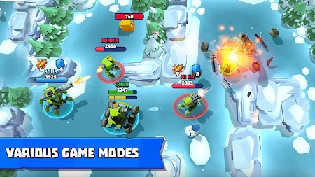 Tanks A Lot! - Realtime Multiplayer Battle Arena APK screenshot thumbnail 6