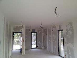 Photo: Plafond keuken geschilderd