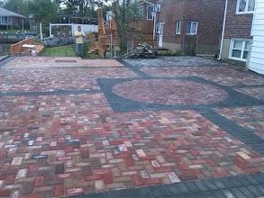 Photo: 4000 sq.ft brick patio in Baldwin Harbor, NY