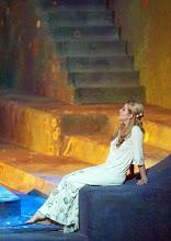 Photo: SALOME (Wiener Staatsoper, 7.12.2015).  Lise Lindstrom (Salome). Foto: Wiener Staatsoper/ Michael Pöhn