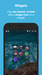 Sign for Deezer - Deezer Widgets and Shortcuts APK screenshot thumbnail 1