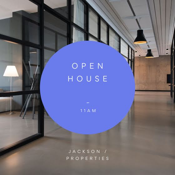 Jackson Open House - Instagram Post Template