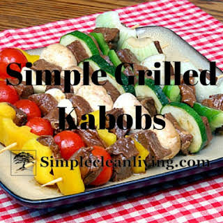 Simple Grilled Kabobs.