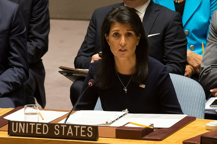 Nikki Haley. Picture: REUTERS