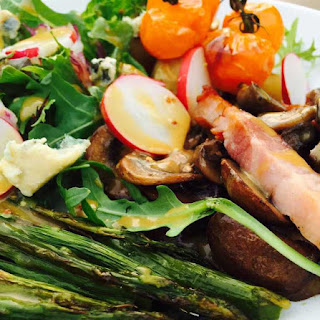 Potato And Roast Asparagus Salad