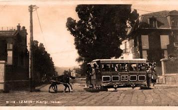 Photo: Atlı tramvay Çamlık'tan geçiyor...