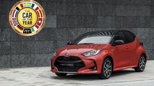 Toyota Yaris, elegido Coche del Año en Europa 2021