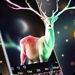 Mysterious Christmas Elk Keyboard Icon