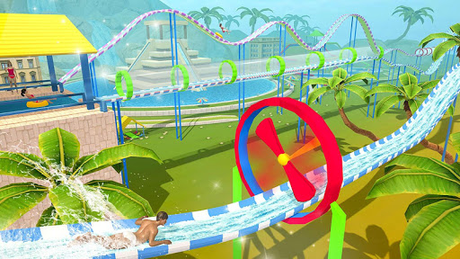 Water Parks Extreme Slide Ride : Amusement Park 3D 1.32 screenshots 20