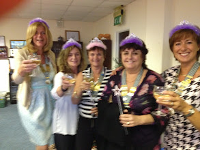 Photo: The ACI Board came as Fairy Godmothers :) ...check Nikkie's magic wand!