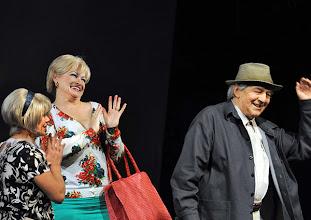 Photo: WIEN/ Kammerspiele: CHUZPE von Lily Brett. Premiere am 22.11.2012. Inszenierung: Dieter Berner. Mit Gariele Schuchter, Grazyna Dylag, Otto Schenk. Foto: Barbara Zeininger.
