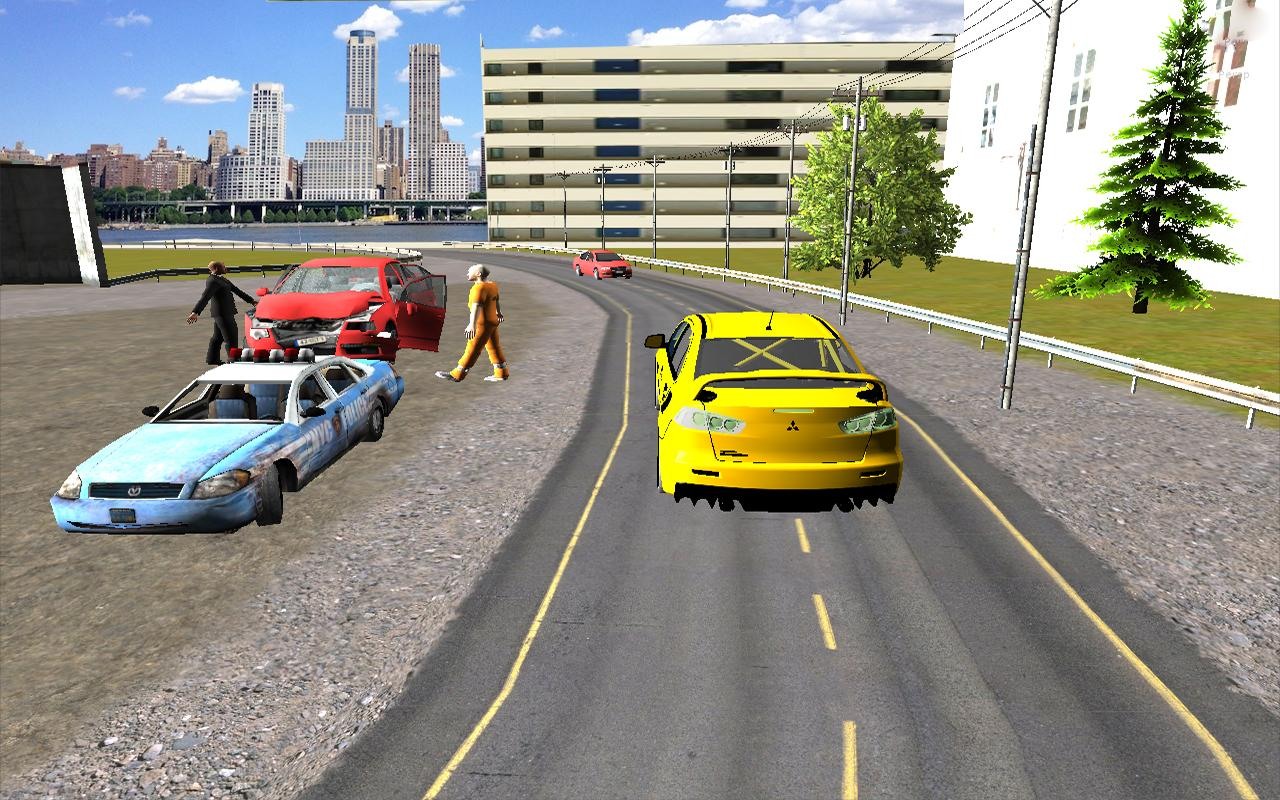 Big-City-Taxi-Drive-Simulation 16