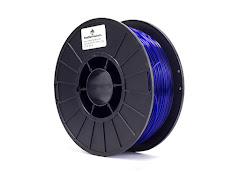 Translucent Blue PRO Series PLA Filament - 1.75mm (1kg)