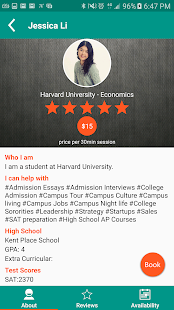Mentr - The College Advice App- screenshot thumbnail