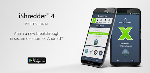 iShredder™ 4 Professional app for Android screenshot