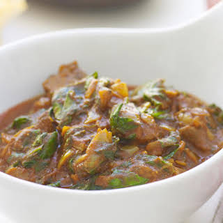 Lamb Curry with Fragrant Rice.