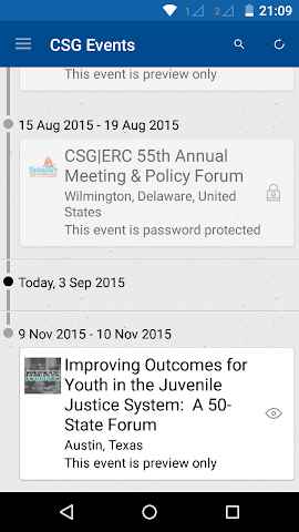 android Council of State Governments Screenshot 1