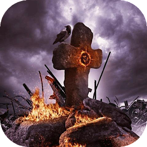 download Cemetery live wallpaper apk