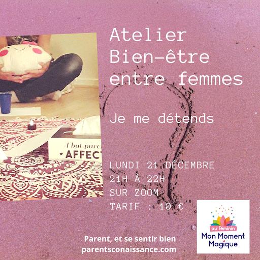 Atelier Bien-être Mon Moment Magique Entre Femmes
