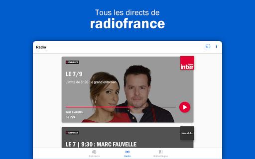 Radio France - podcasts, direct radios 6.5.2 screenshots 11
