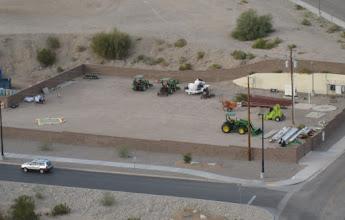 Photo: THREE John Deere tractors brighten my day