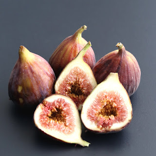 Prosciutto Wrapped Pecan & Blueberry Goat Cheese Stuffed Fig