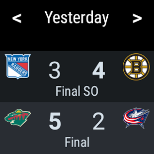 Sports Alerts - NHL edition- screenshot thumbnail