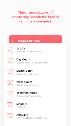 TheDayBefore (D-Day countdown) v3.8.16 screenshots 7
