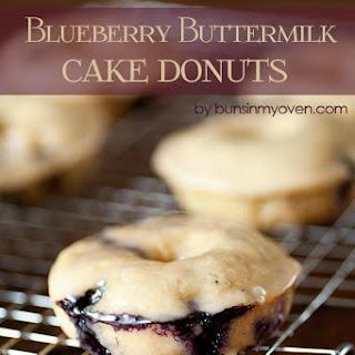 Glazed Blueberry Donuts Recipe