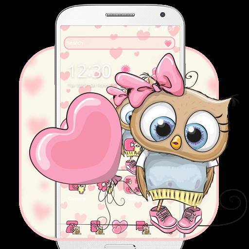 Cute Cartoon Owl Theme