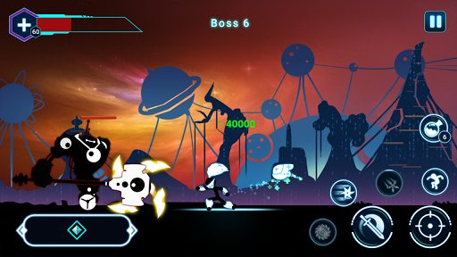 Stickman Ghost 2: Galaxy Wars 5.7 screenshots 4