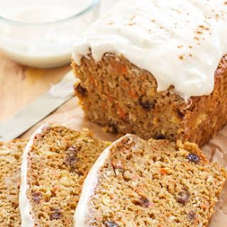 Oatmeal Carrot Cake Bread.