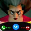 Scary Techer Video Call - Call Scary Techer Prank2 icon