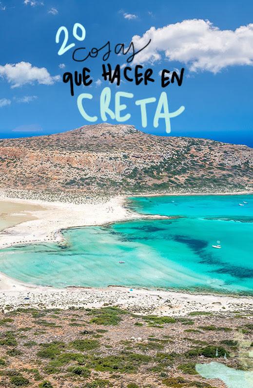 que ver y hacer en Creta
