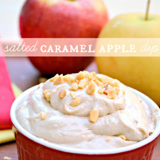 Salted Caramel Apple Dip Recipe