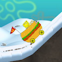Sponge Car Climb Racing icon