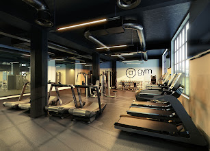 Photo: This is a 3d Gym I've recently created for a client.  I've used 3ds Max and V-Ray. I hope you like it.  jamie